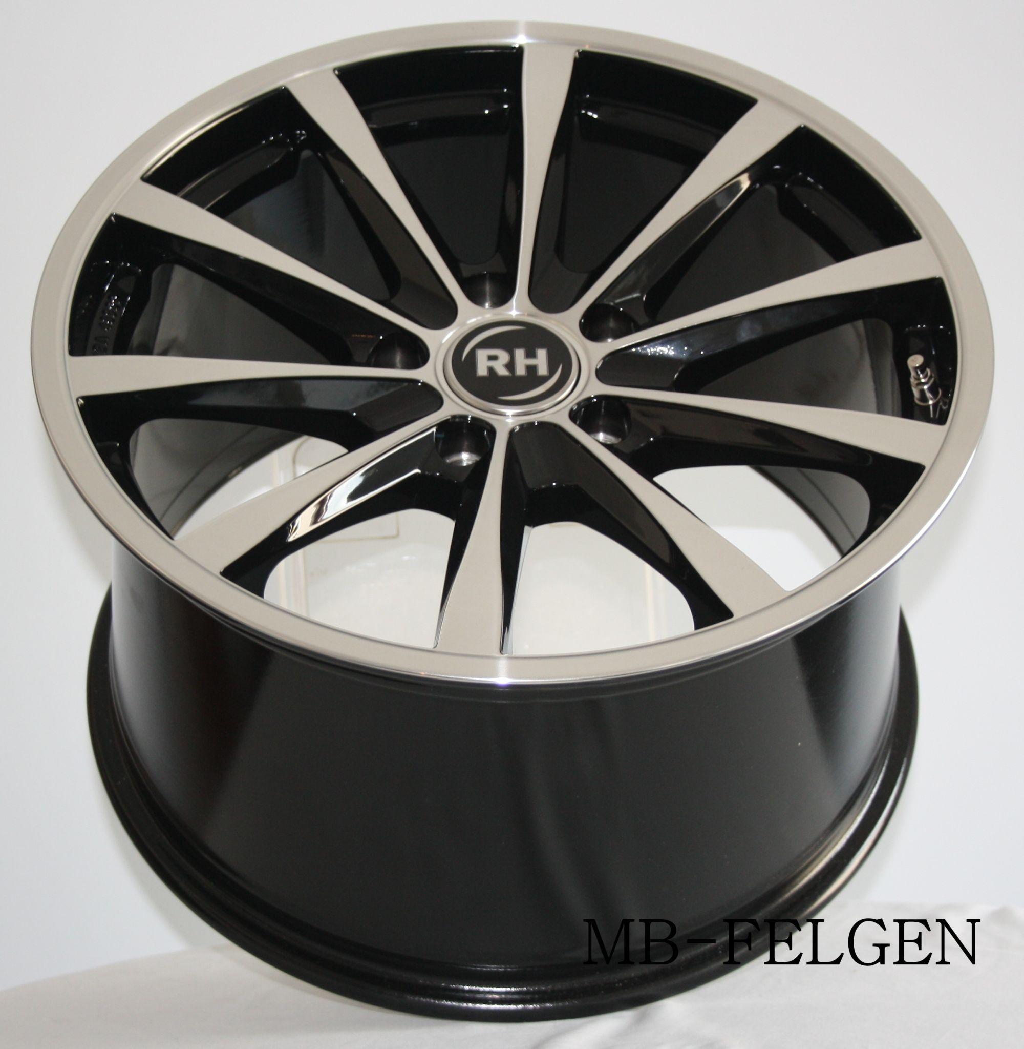 rh gt schwarz poliert 19 zoll porsche 911 997 turbo mit. Black Bedroom Furniture Sets. Home Design Ideas